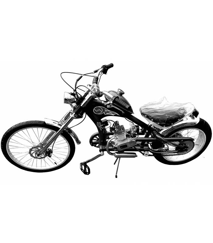 Moto kolo Chopper 50cc black
