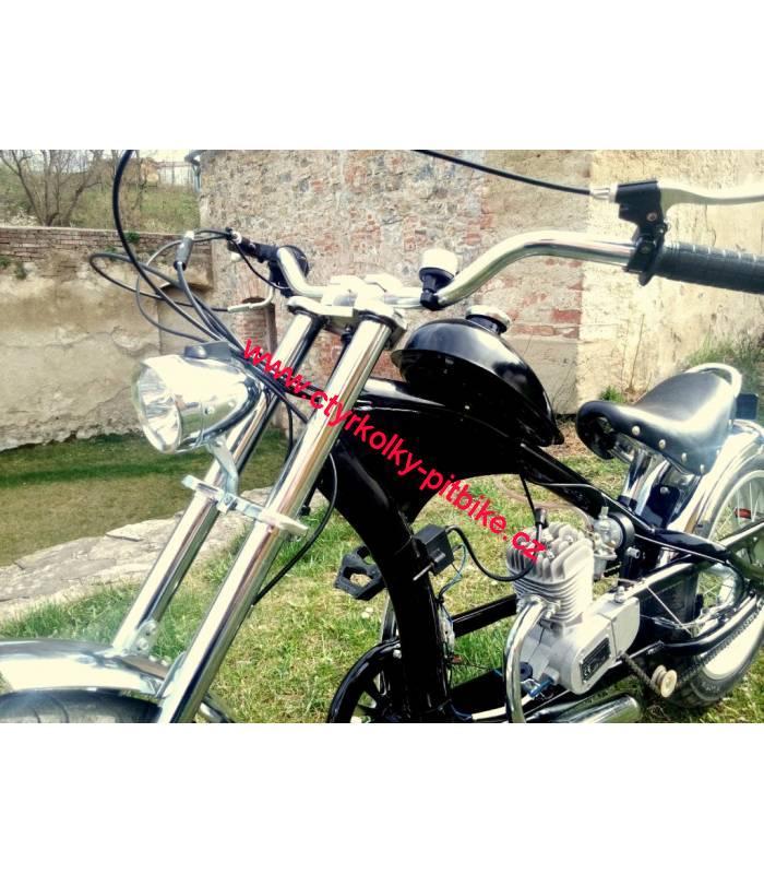 030f466d61b Moto kolo - motorové kolo Chopper 50cc black