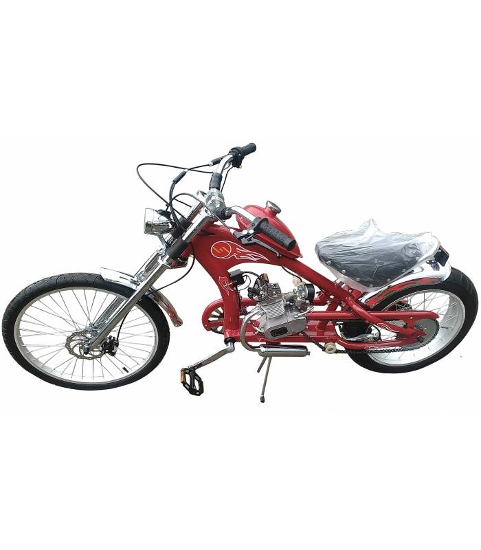 Moto kolo Chopper 80cc red
