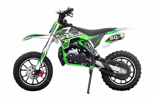 b3a8efdd530 Minicross Gazelle Sport zelená empty