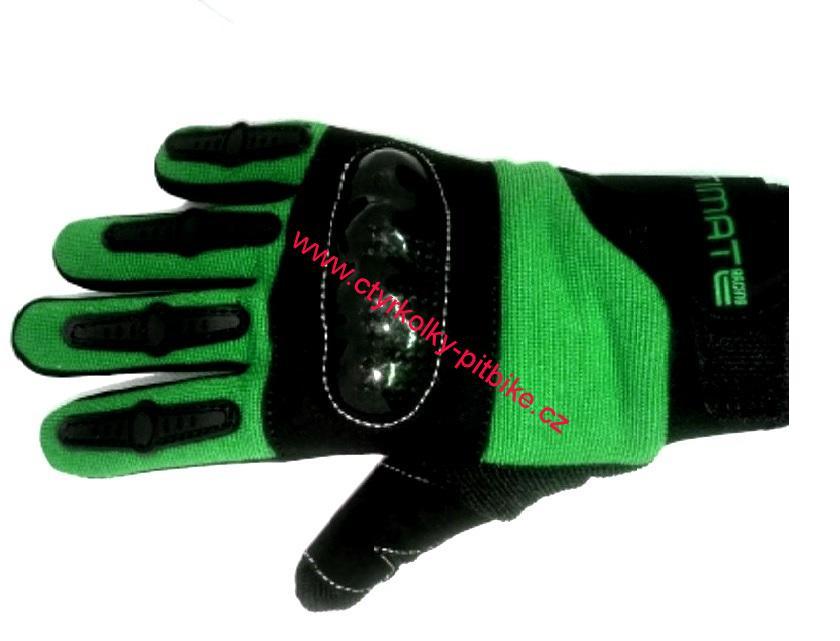 0bd82d515 Dětské motocross rukavice Ultimate zelené